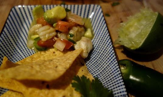 Recipe: Shrimp Ceviche