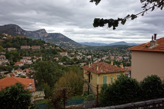 Vence: Rainy Day