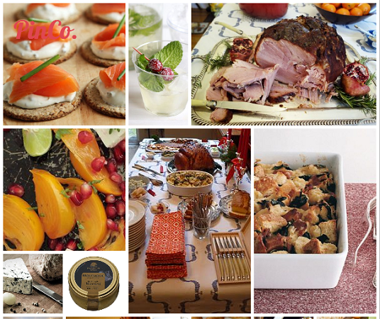Holiday Party No. 6: Christmas Brunch for 35 Guests