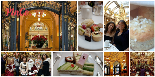 Holiday Party No. 8: Ladies High Tea at the Palace Hotel