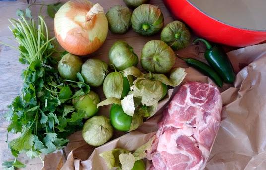Recipe: Chile Verde with Pork Shoulder