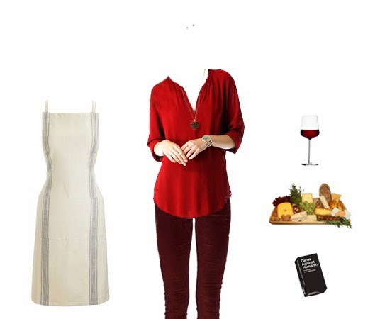 What To Wear Hosting A Valentine S Day Dinner Party Emilystyle