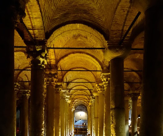 Going Underground at the Basilica Cistern in Istanbul