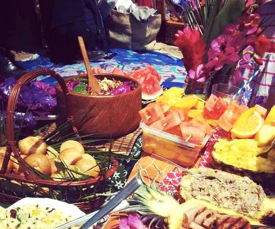 A South Pacific-Themed Hawaiian Picnic at Mt. Play