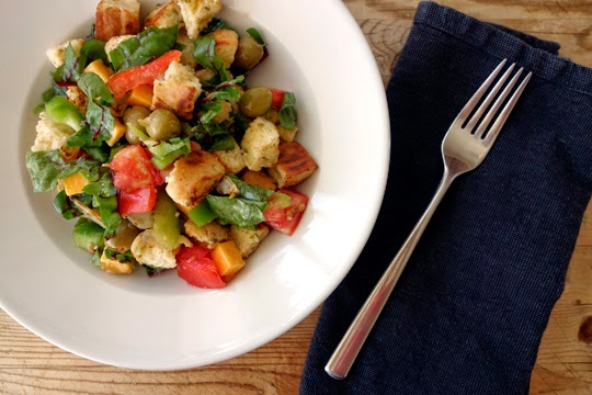 Mexican-Inspired Panzanella Salad