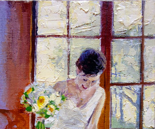 Wedding Paintings Part II: The Reception