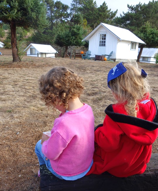 Celebrating My Birthday With A Camping Party At Costanoa
