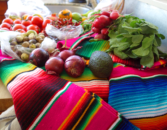 5 Step Dinner Party: Mexican Farm to Table