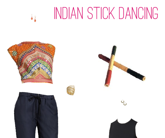 What to Wear: Dandiya Raas (Indian Stick Dancing)