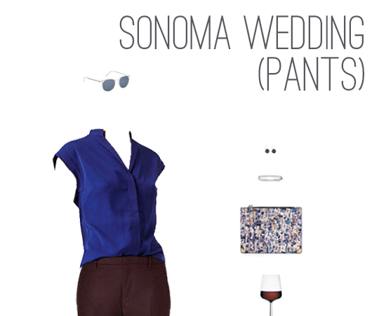 What to Wear: Spring Wedding in Sonoma
