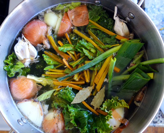The Satisfaction of Making Chicken Stock
