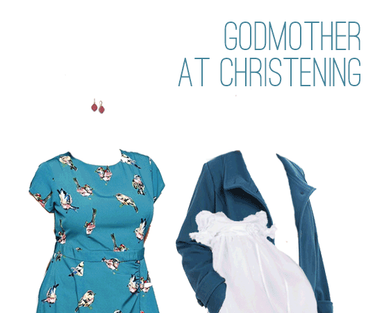 What to Wear: Godmother at a Catholic Christening