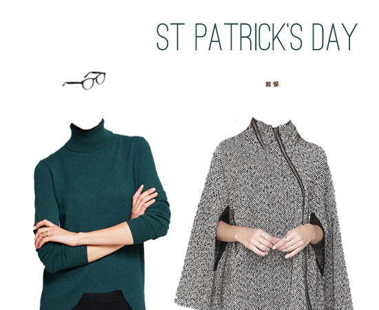 What to Wear: St. Patrick's Day Green