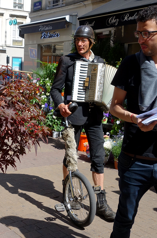 The frenchiest, french accordion player