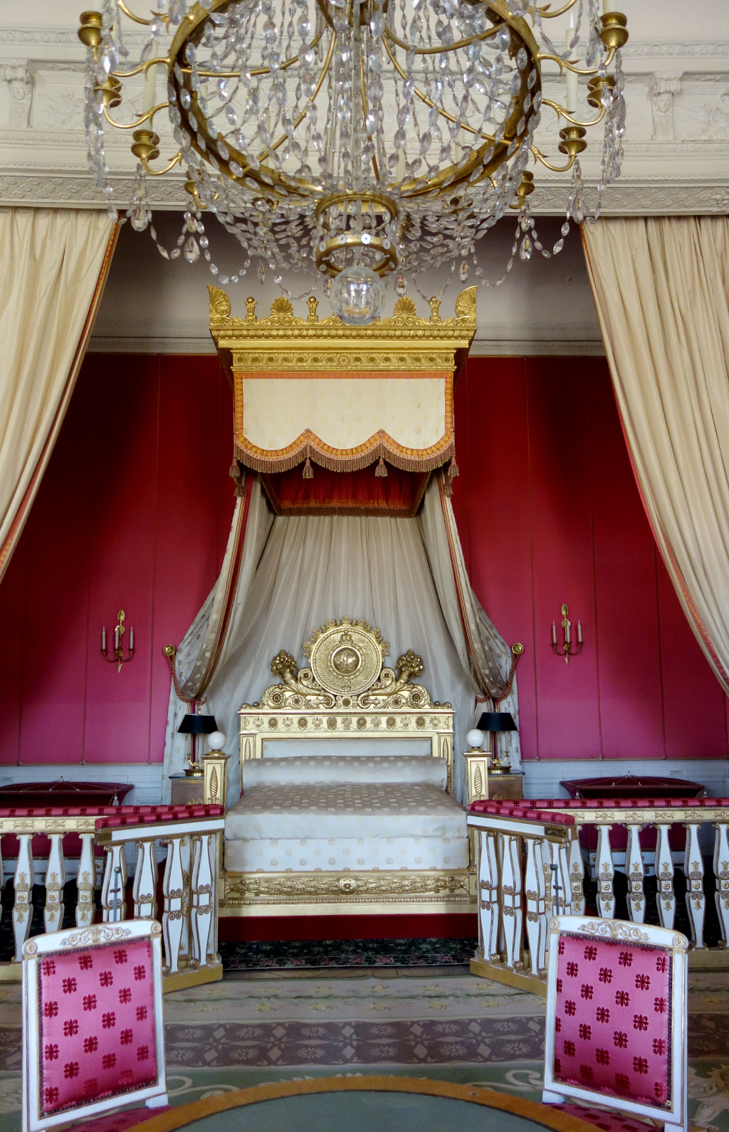 Marie Antoinette's Bedroom at Petite Trainon