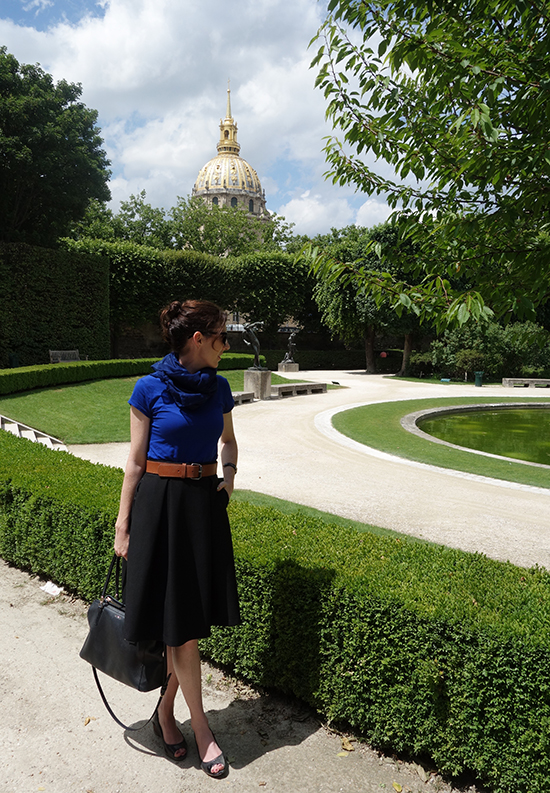 A French outfit for a Day at the Musee Rodin