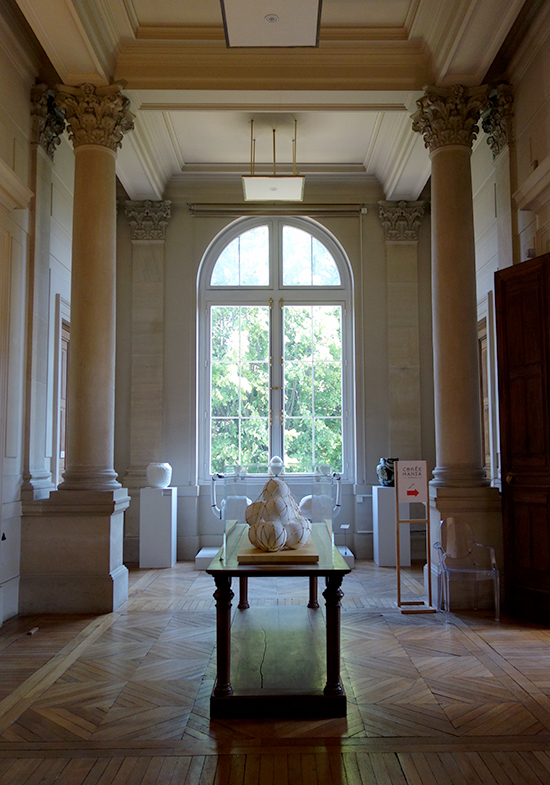 French ceramic museum view