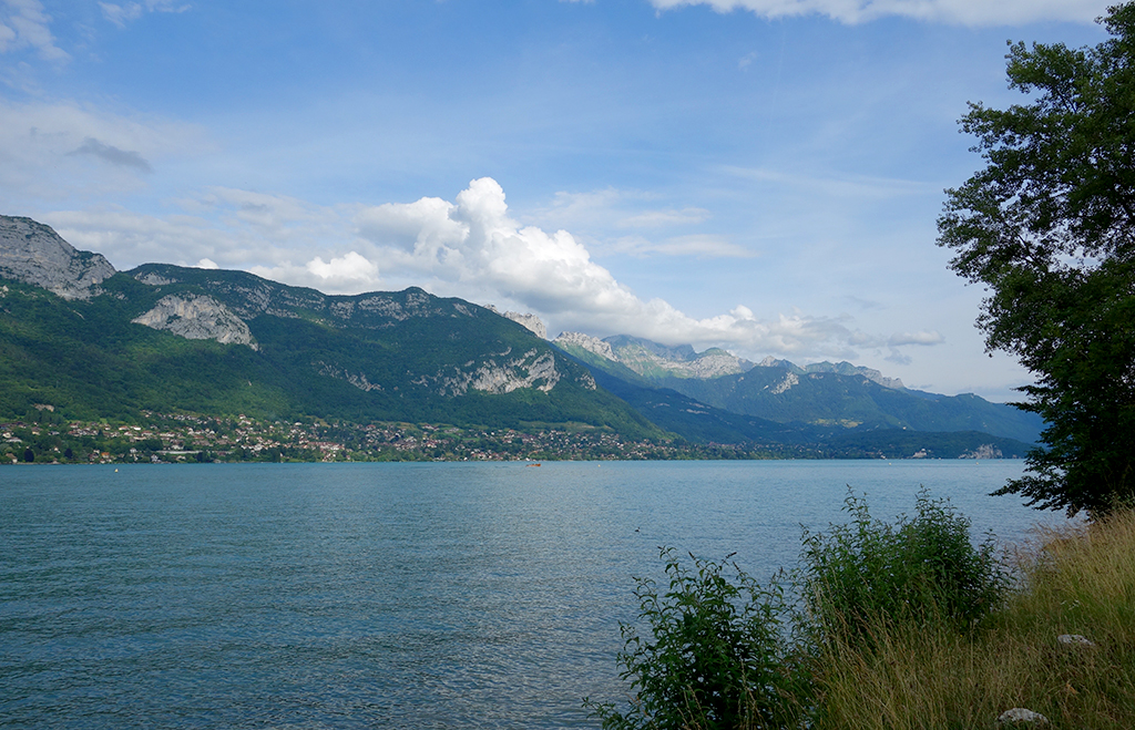 Lake Annecy View in June