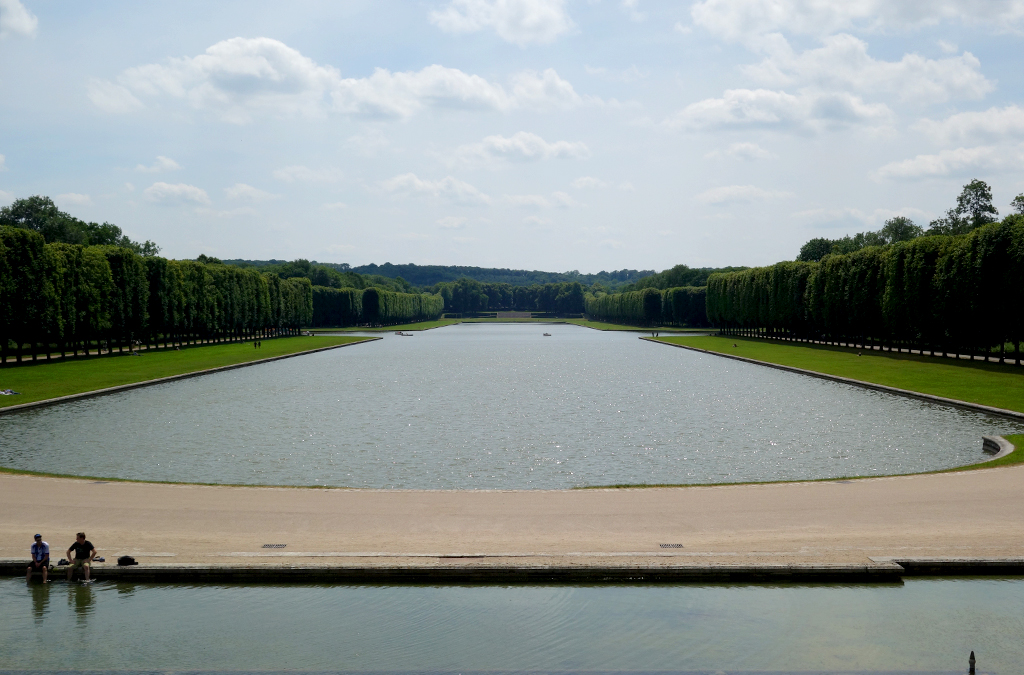Around the main lake at Versailles