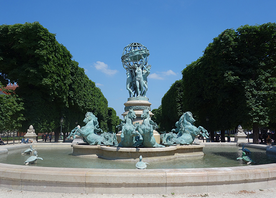 Paris Picnic No. 5: Luxembourg Gardens and Shopping on Rue de Rivoli
