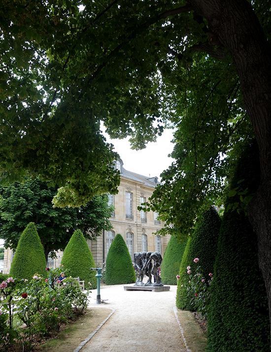 Musee Rodin Sculpture Garden View
