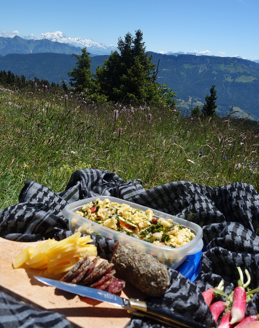 Picnicking in Semnoz