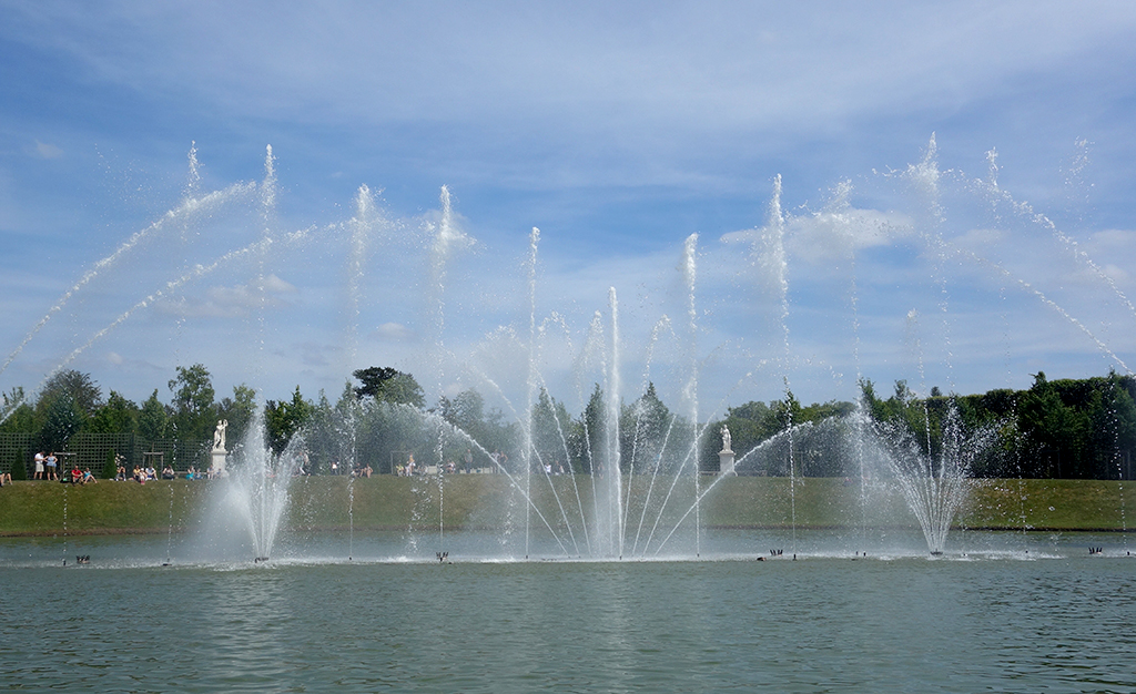 Water and music show at Versailles