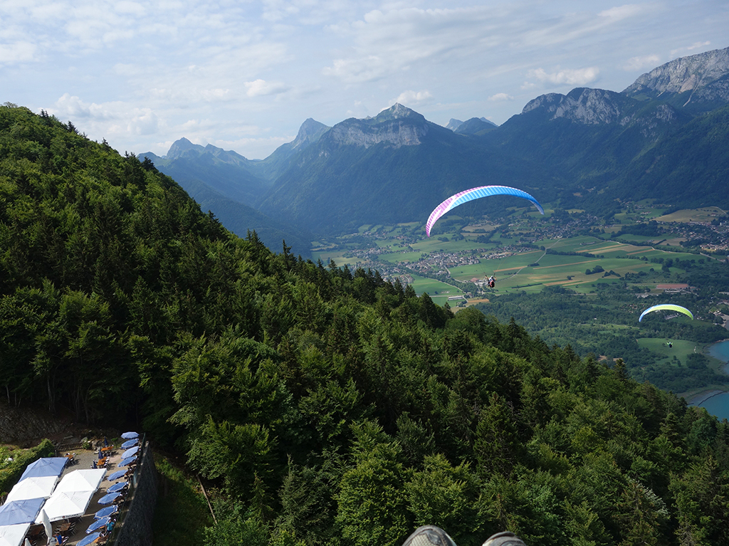 Rob Paragliding in Annecy