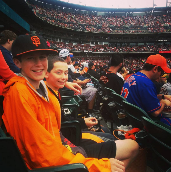 Taking kids to a SF Giants game