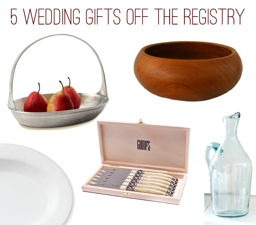 Classic, memorable wedding gifts for going off-registry