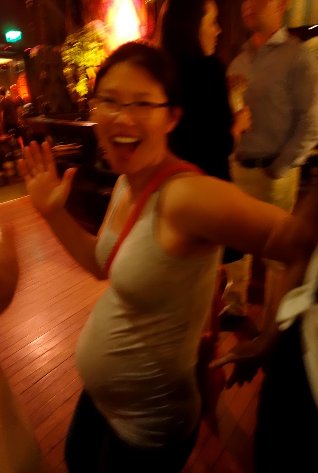 Jackie dancing Tonga Room