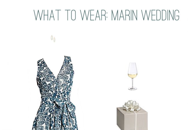 What to Wear: Marin Wedding
