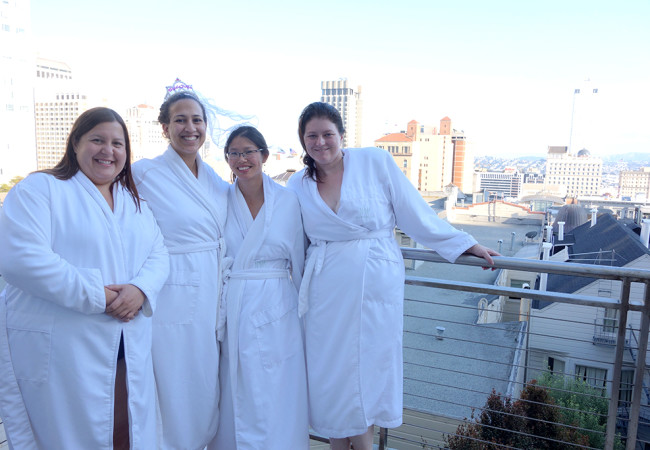 A San Francisco Spa Bachelorette Party