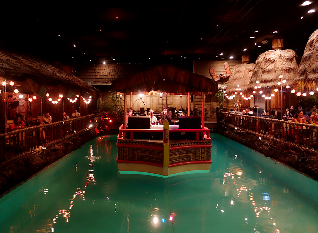 Floating Band Tonga Room