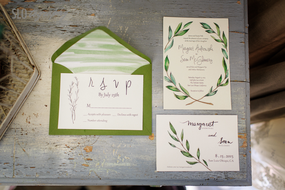 Wedding olive branch designs