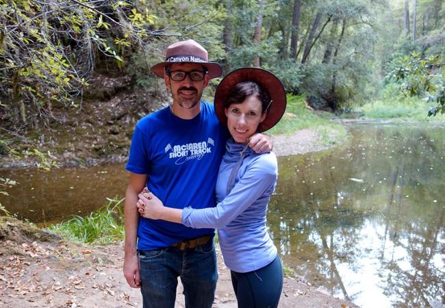 Birthday Camping at Portola Redwoods State Park
