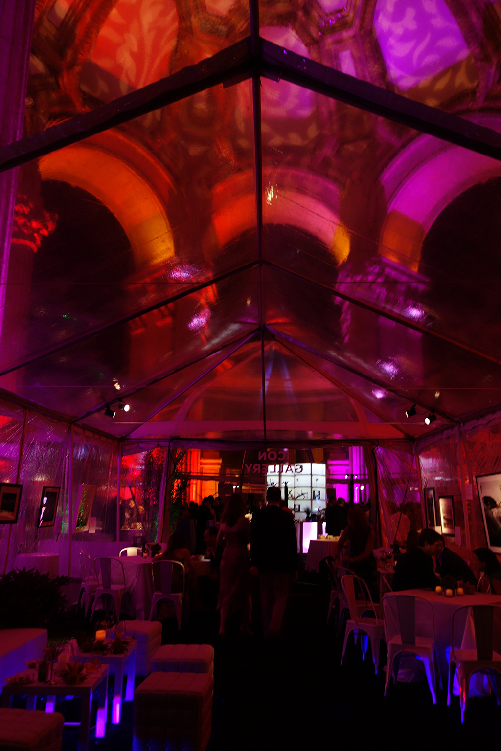 Parks Alliance gala tent