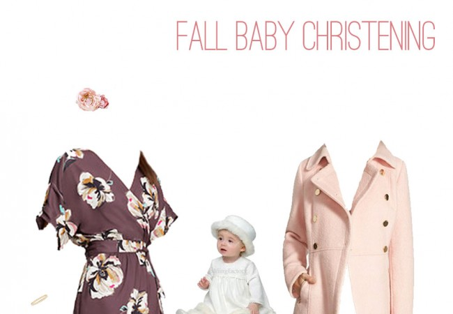 What to Wear: Baby Girl Christening in Fall