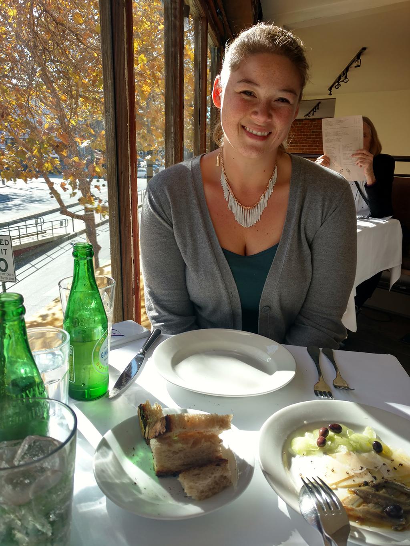 Zuni Cafe lunch