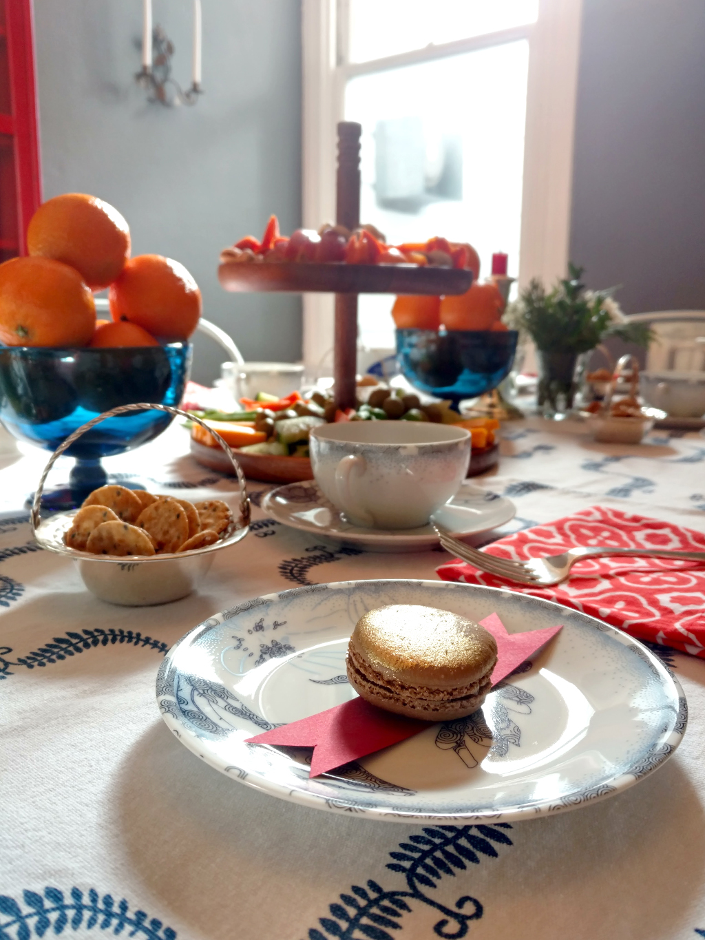 Gluten-free holiday tea party