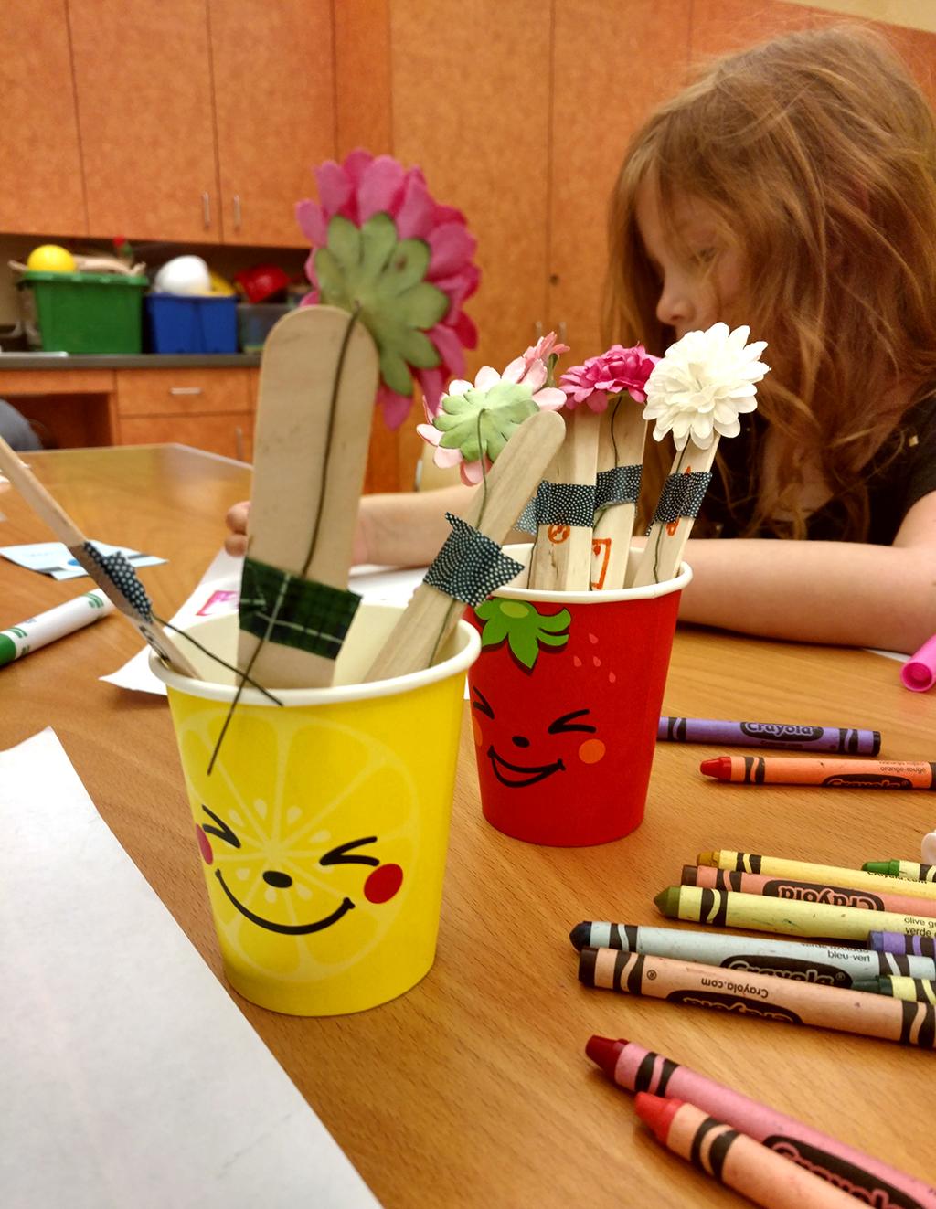 Chore flower pots