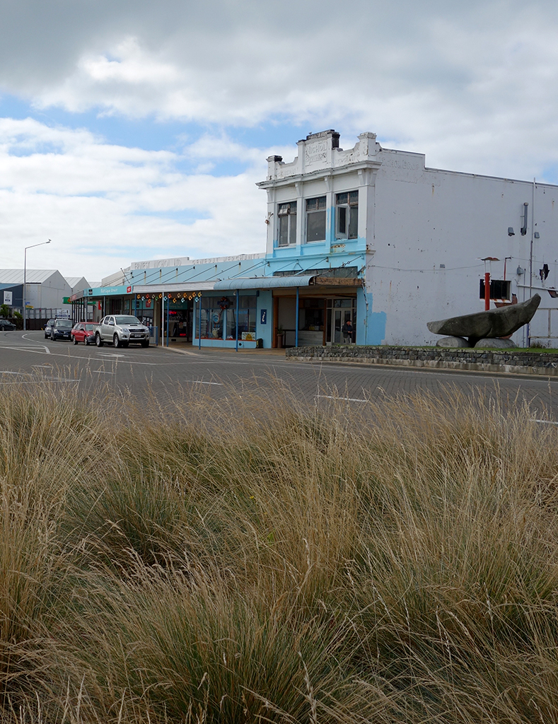 Bluff town in New Zealand