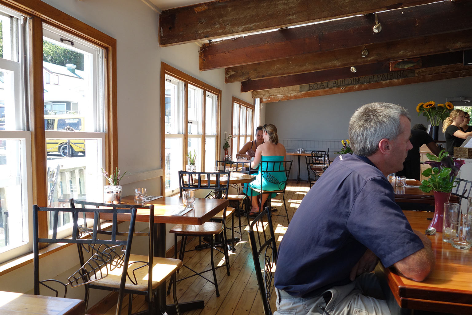 Nelson NZ's Boat Shed Restaurant