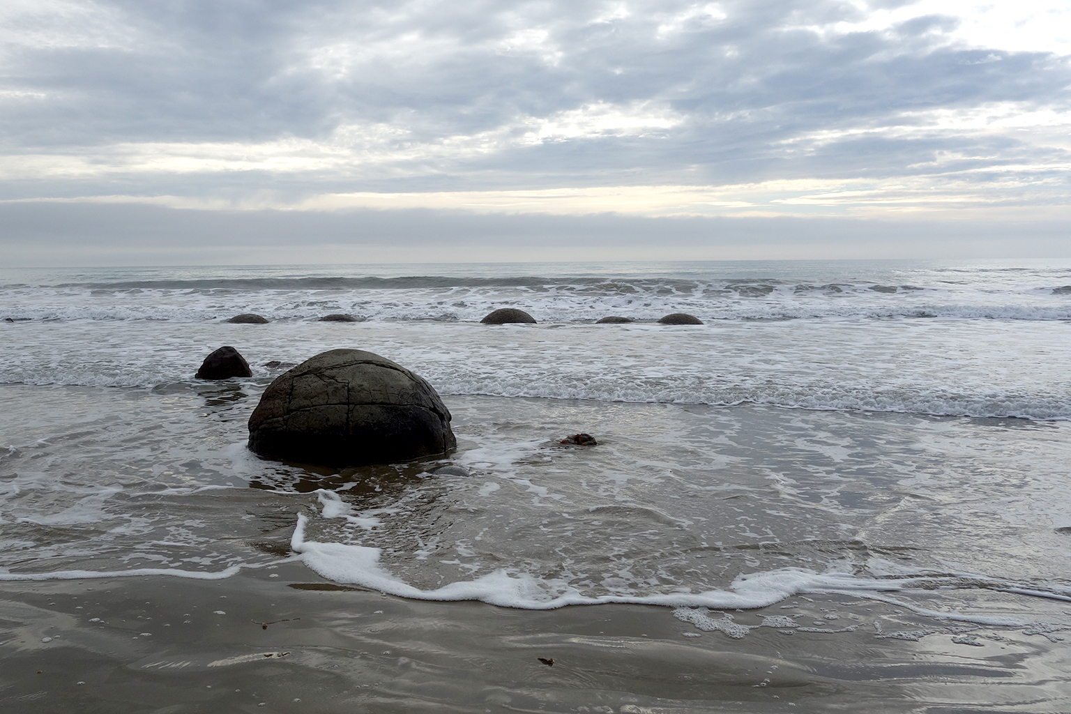 Moeraki Boulders in New Zeland