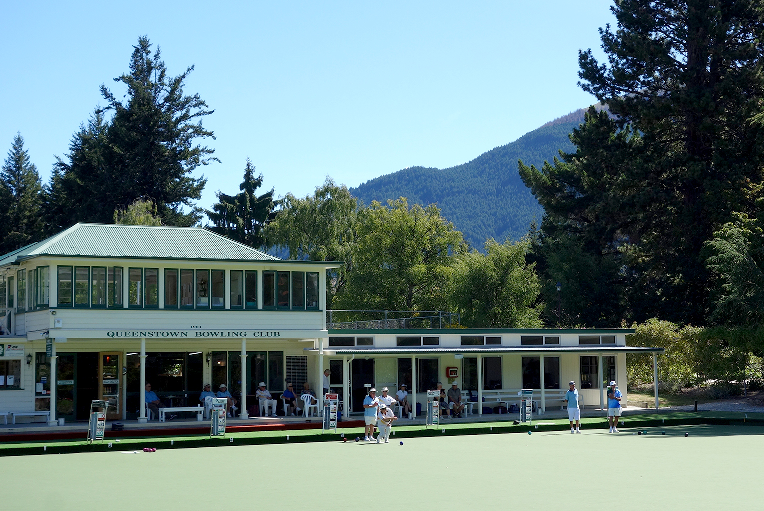 Bowling Green in Queenstown
