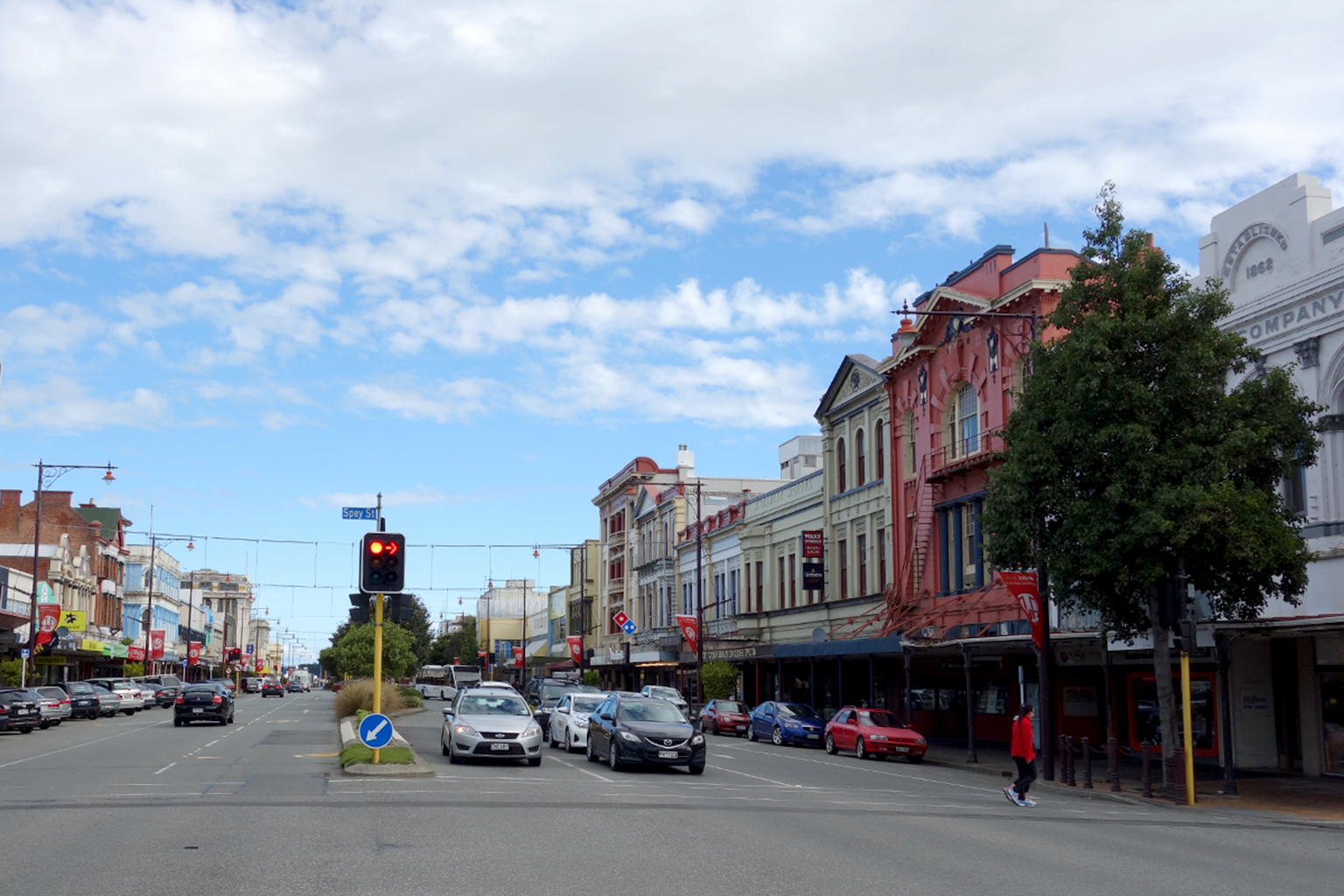 Downtown Invercargill NZ