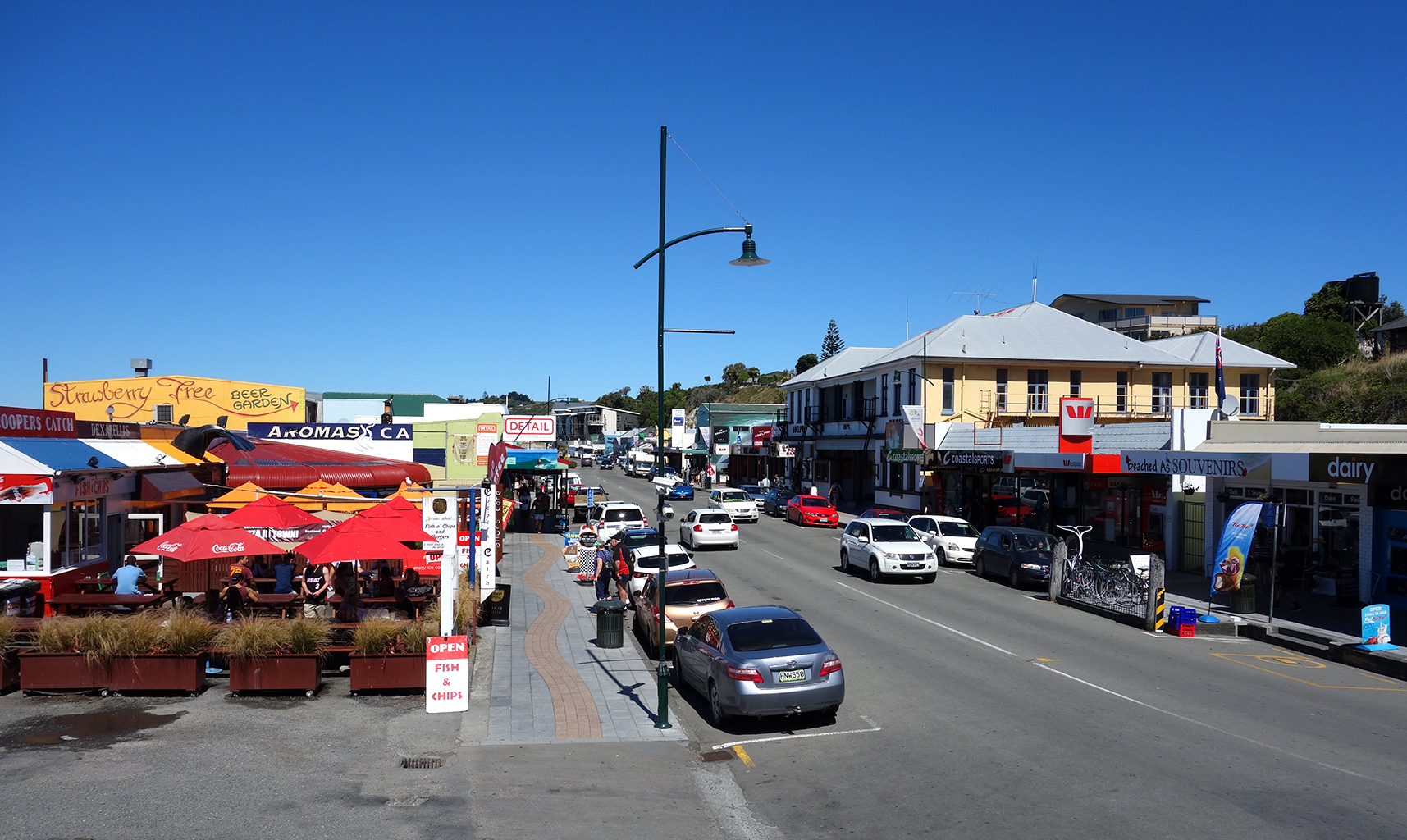 Kaikoura Town, New Zealand