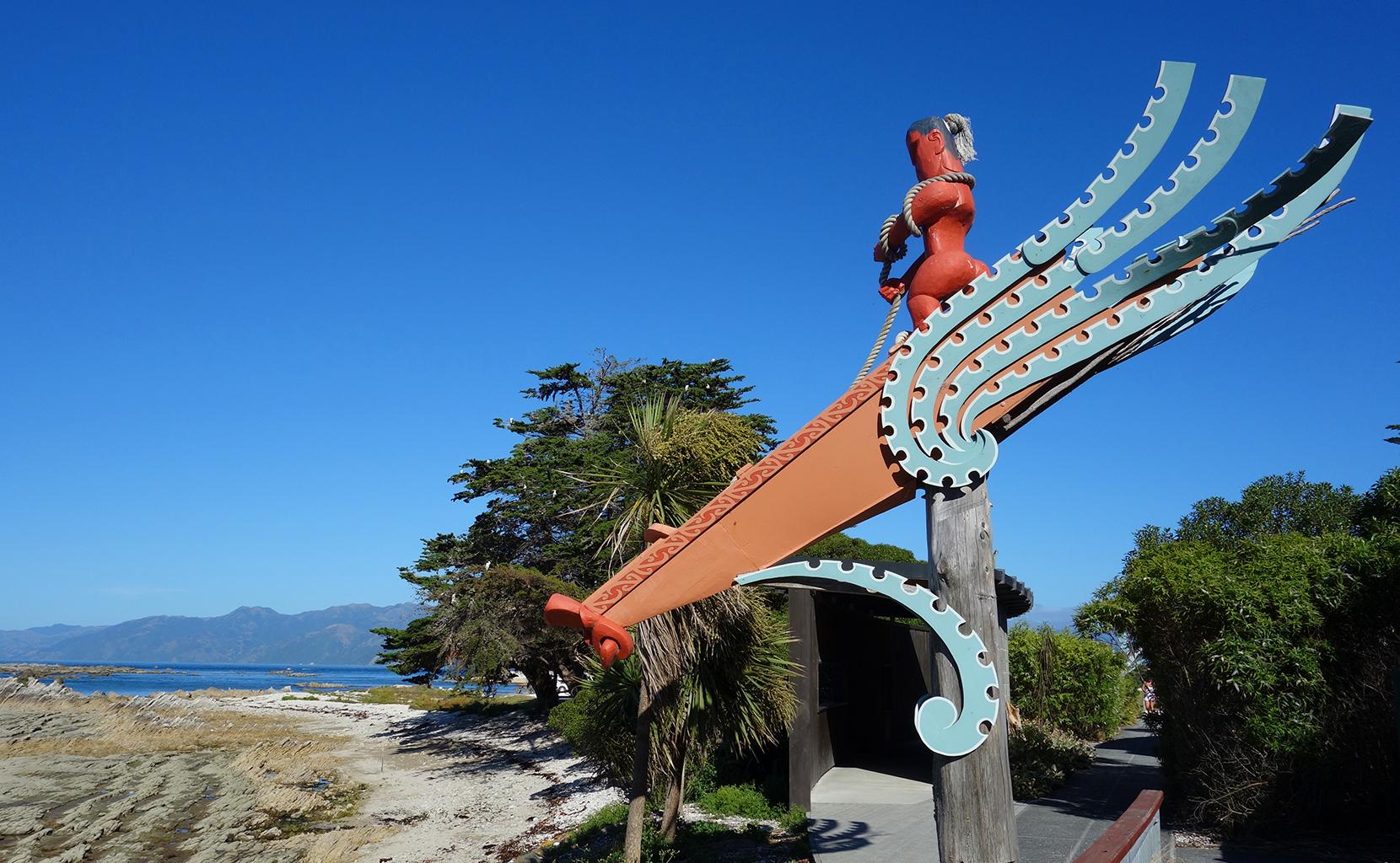 Maori reserve in Kaikoura, NZ