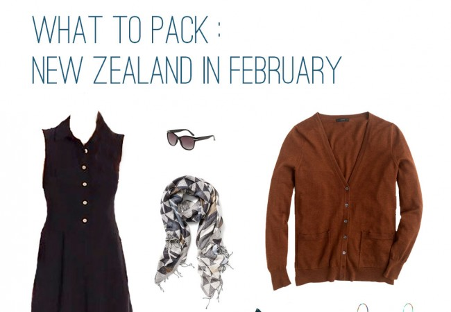 What to Pack: New Zealand in February
