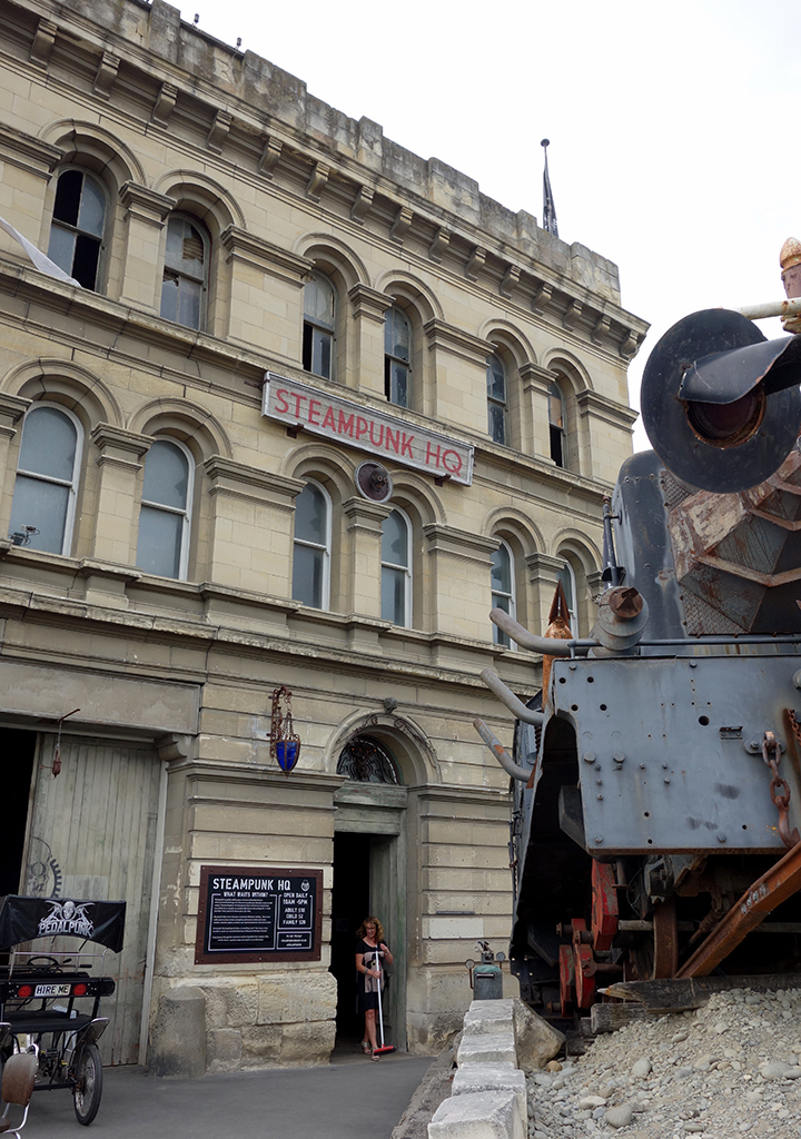 Steampunk HQ in Oamaru, NZ